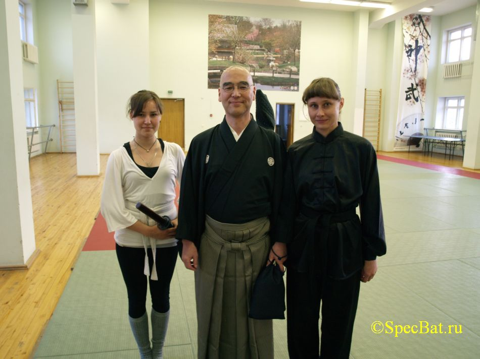 Семинар по Иайдо под руководством Фукусима Тэцуя и Оути Гио