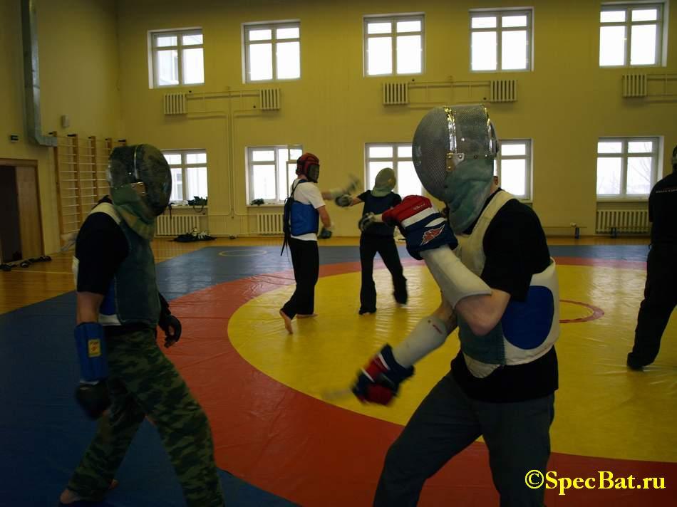 Семинар по ножевому бою Толпар